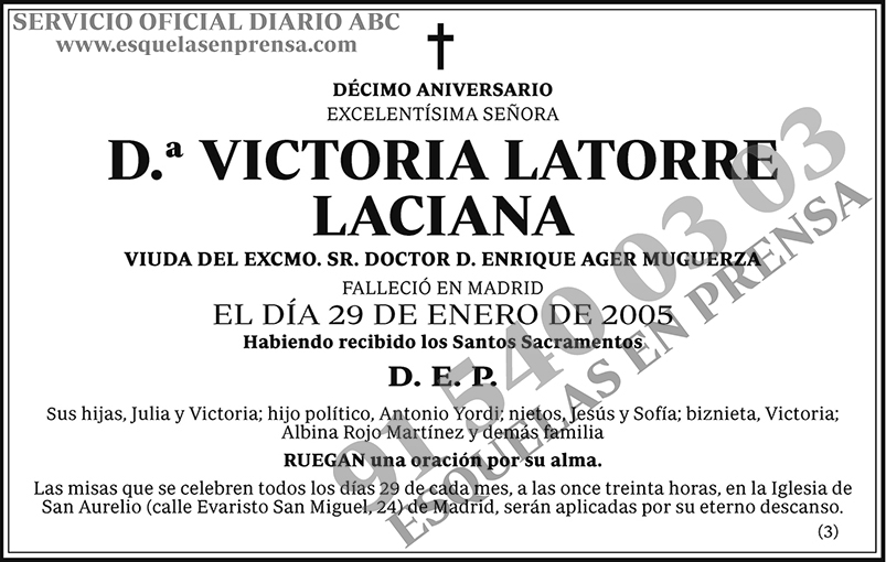 Victoria Latorre Laciana